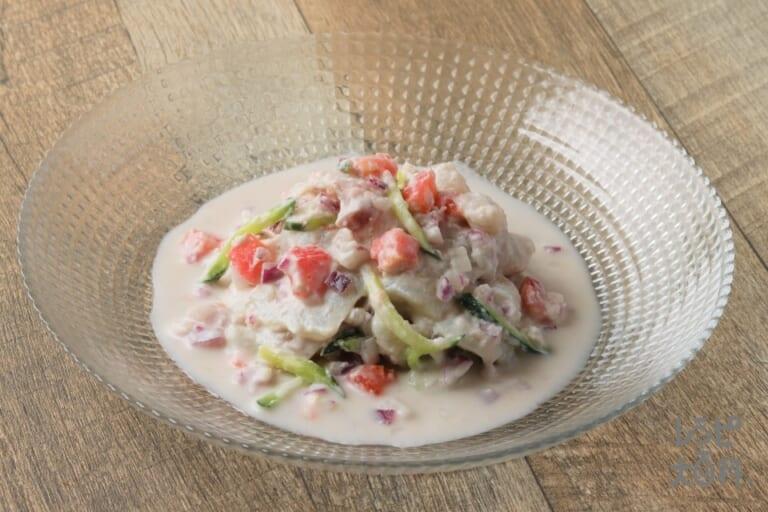 ココンダ(白身魚のココナッツミルクマリネ)