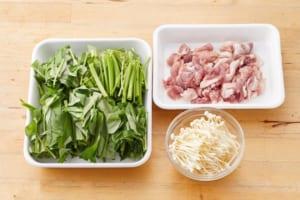 空心菜と豚肉のオイマヨ炒めの作り方_0_1