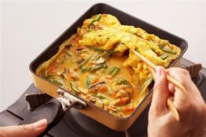 彩り野菜卵焼きの作り方_4_4