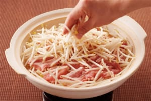 大根と豚肉のだし蒸し鍋の作り方_1_2