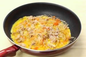 豚バラ大根の卵とじ丼の作り方_1_1