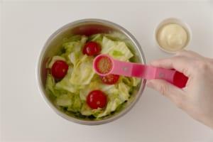 キャベツの簡単洋風サラダの作り方_1_0