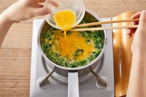 丸鶏ふわ玉豆苗スープの作り方_2_1