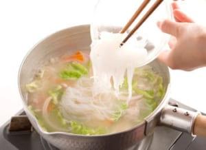 ちゃんぽん風春雨スープの作り方_3_1