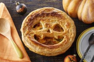 ハロウィンかぼちゃのパイグラタン