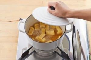 小松菜と油揚げの煮びたしの作り方_1_1