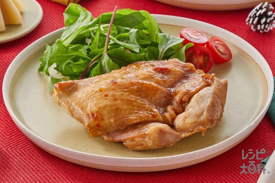 簡単!オーブンいらずのローストチキン(鶏もも肉を使ったレシピ)