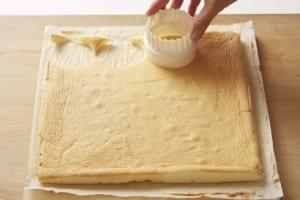 いちごサンタともみの木のショートケーキの作り方_5_0