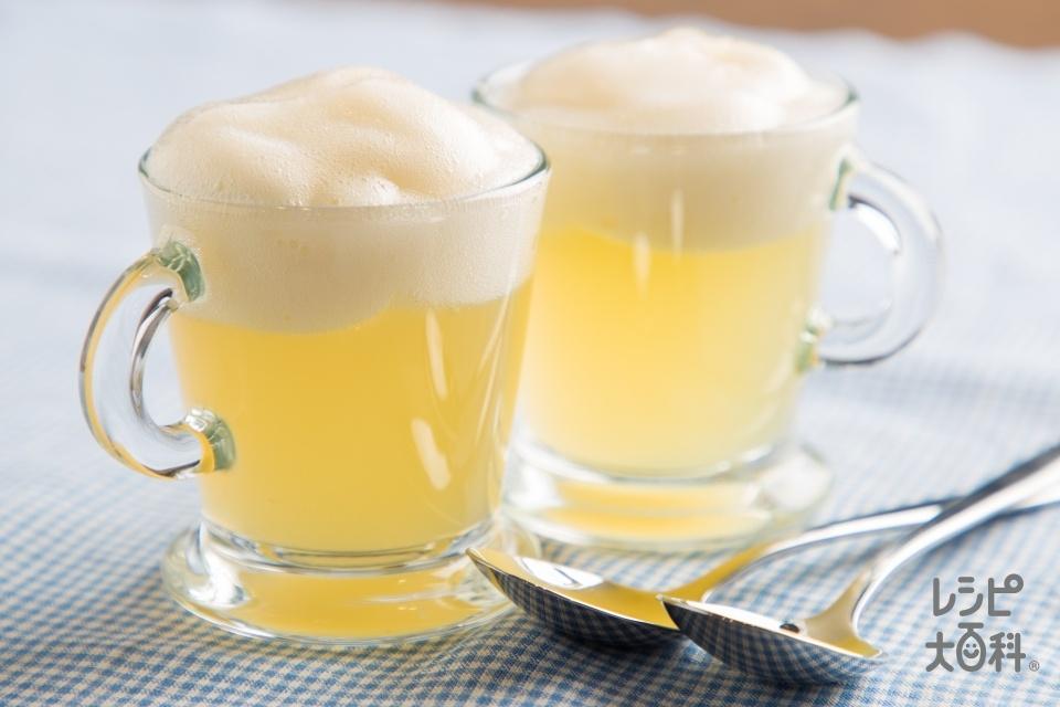ビール風りんごゼリー(りんごジュース+粉ゼラチンを使ったレシピ)
