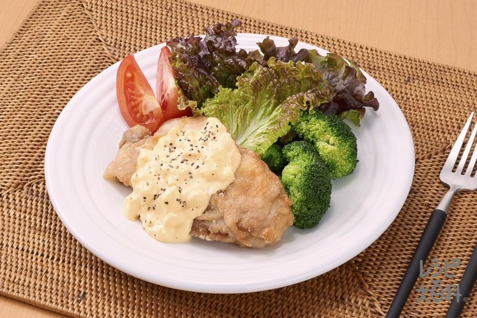 かんたん山賊焼きのタルタルソース(鶏もも肉(皮つき)を使ったレシピ)