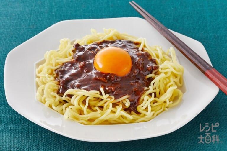 ジャージャー麺風、麻辣麻婆麺