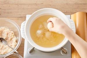 鶏だんご鍋の作り方_7_0
