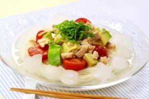 さっぱり冷製スープそうめんの作り方_4_1