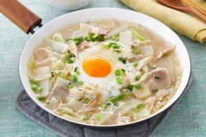 豚バラ肉と大根の炒め鍋
