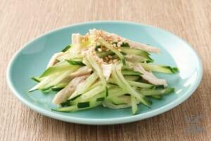 鶏ささみときゅうりの中華サラダ