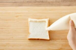 こがしマヨたまトーストの作り方_0_1