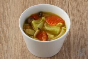 キャベツとトマトのカレースープ