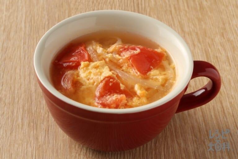 トマたま香味スープ