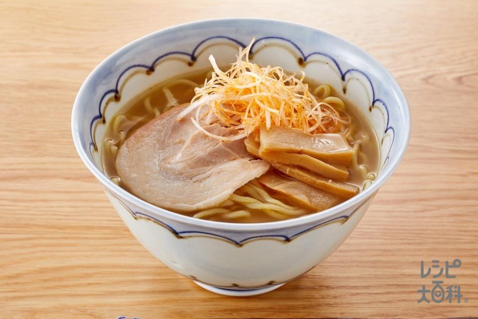 みそラーメン(ぽかぽか生姜みそ)(中華生めん+チャーシューを使ったレシピ)