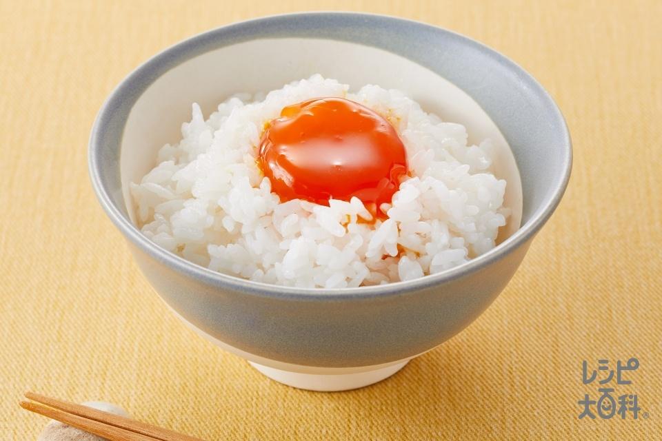 卵黄の琥珀漬け(ご飯+卵黄を使ったレシピ)