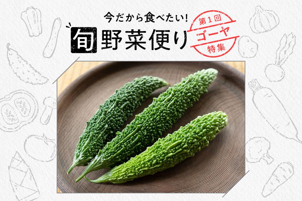 旬野菜便り♪ゴーヤをまるごとおいしく使い切り!