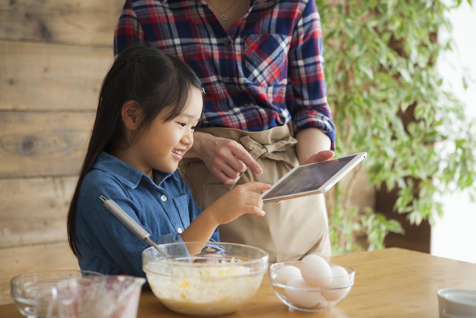 レシピ×ドリルのいい関係「あじのも帳」で親子の対話を