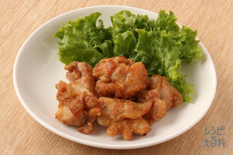 フライパンでやわらかジューシーから揚げ風(鶏もも肉を使ったレシピ)