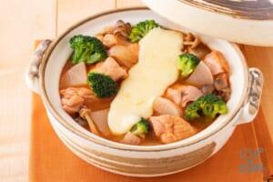 タッカルビ風大根キムチーズ鍋