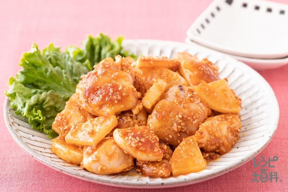 うま辛やみつきチキン(鶏もも肉+大根を使ったレシピ)