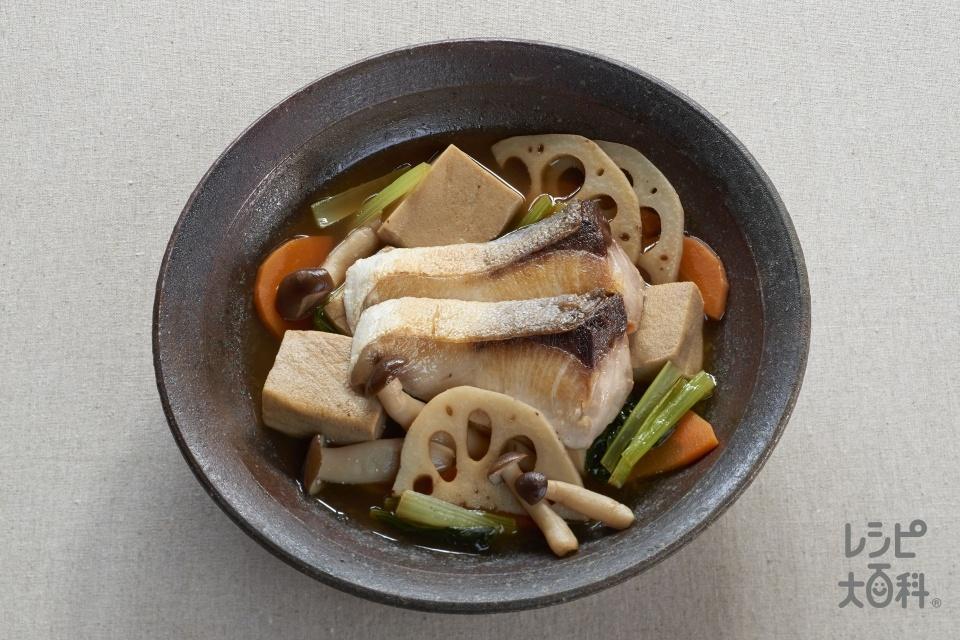 凍り豆腐の信州あんかけ煮