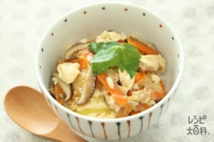 レンジで簡単♪くずし豆腐丼