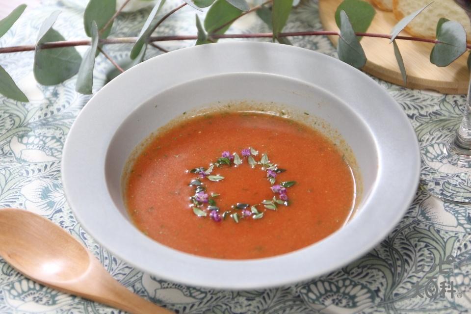 トマトスープ クリスマスリースアレンジ