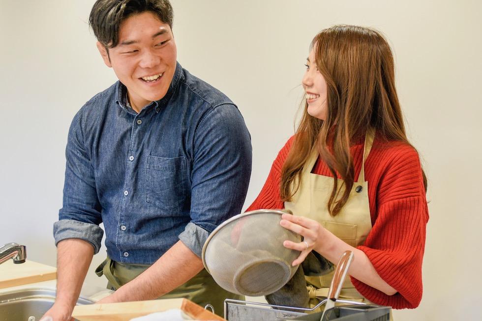 料理するのも食べるのも一緒!「ペアクック」で深まる夫婦の絆