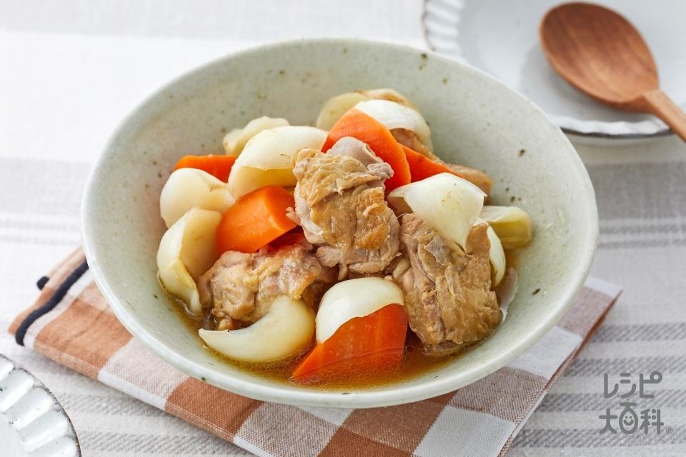 鶏肉とゆり根の煮物