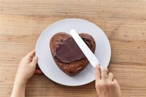 ハートチョコレートケーキの作り方_7_1