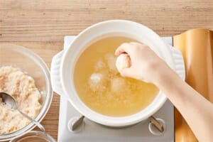 鶏だんご鍋の作り方_7_1