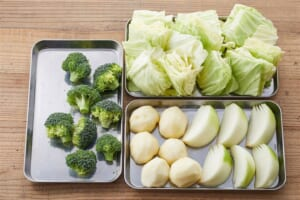 ソーセージとざく切り野菜のポトフの作り方_0_1