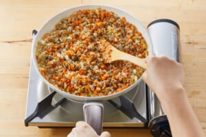 じっくり炒めた玉ねぎとひき肉のキーマカレーの作り方_2_1