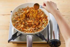 じっくり炒めた玉ねぎとひき肉のキーマカレーの作り方_3_1