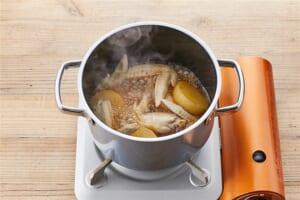 大根と手羽の煮物の作り方_1_1
