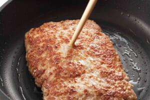 豚ひき肉かたまり焼きの作り方_1_1