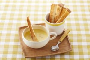 トースト × コーン dip スープの作り方_1_1