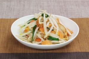 カット野菜とちくわの炒め物の作り方_2_1