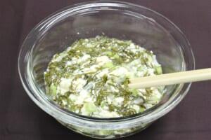 めかぶと豆腐のさっぱり和えの作り方_1_1