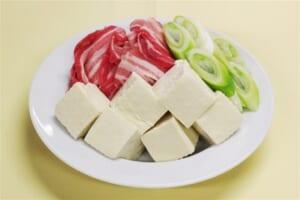 レンジで肉豆腐の作り方_0_1