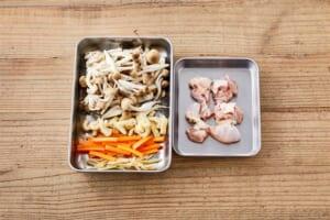 鶏ときのこのだし炊きご飯の作り方_1_1