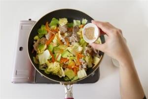 豚肉とキャベツの簡単和風炒めの作り方_2_1