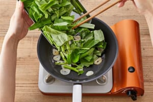 空心菜の中華炒めの作り方_1_0