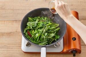 空心菜の中華炒めの作り方_2_0