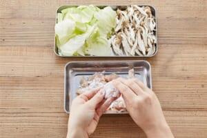 鶏ささみとキャベツのみぞれ煮の作り方_0_1